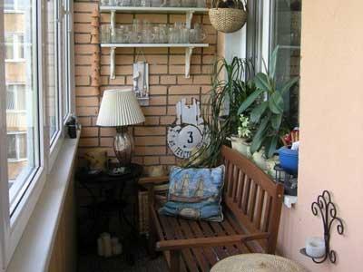 Идеи обустройства балкона.
