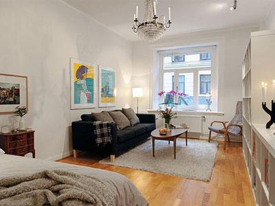 5 идей оформления однокомнатной квартиры.