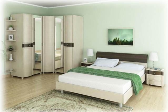 Обстановка спальни — уделяйте внимание кровати и матрасу